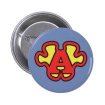 aspergers syndrome SuperASPIE jigsaw my Superpower Pinback Button