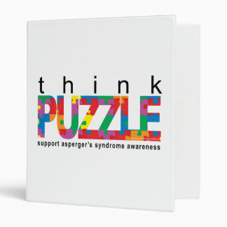 Asperger's Syndrome Think PUZZLE Binder