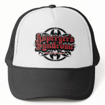 Asperger's Syndrome Tribal Trucker Hat