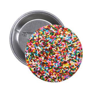 Asperja el botón pin redondo de 2 pulgadas