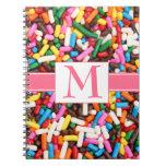 Asperja el cuaderno con monograma