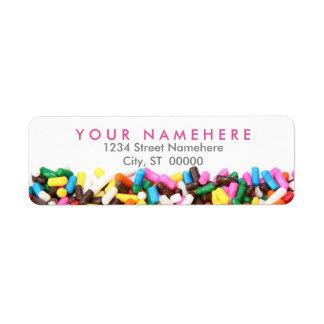 Asperja etiquetas de dirección