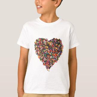 Asperja la camiseta de los niños del corazón camisas