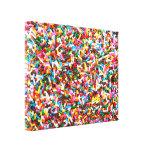 Asperja la impresión estirada de la lona lona envuelta para galerías