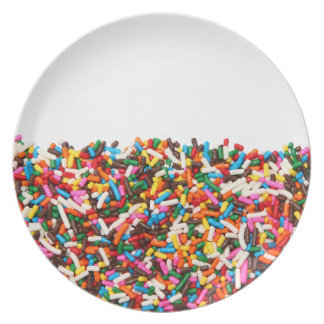 Asperja la placa platos para fiestas