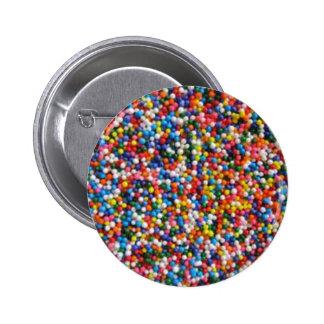 Asperjado con el azúcar del amor asperja el botón pin redondo de 2 pulgadas