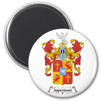 Aspermont Family Hungarian Coat of Arms Magnet