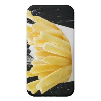 Aspersión de la sal en microprocesadores en el con iPhone 4 carcasas