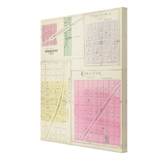 Aspérula, Tregola, Ogallah, Collyer, Kansas Impresiones En Lienzo Estiradas
