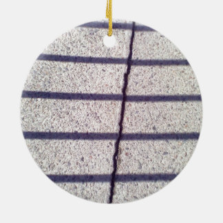 Asphalt and shadow ornament
