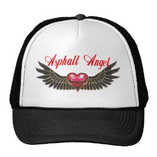 asphalt angel trucker hat