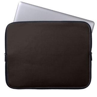 Asphalt Black Laptop Sleeve Electronics Bag