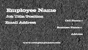 Asphalt business cards templates zazzle asphalt business card template colourmoves