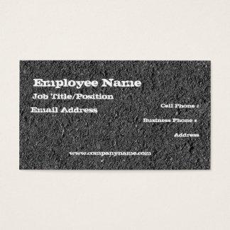 Asphalt Business Card Template