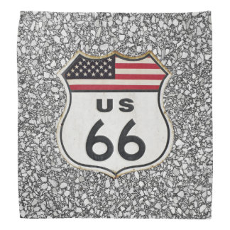 Asphalt on Route 66 Bandana