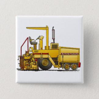 Asphalt Paving Machine Construction Construction P Pinback Button