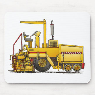 Asphalt Paving Machine Construction Mouse Pad