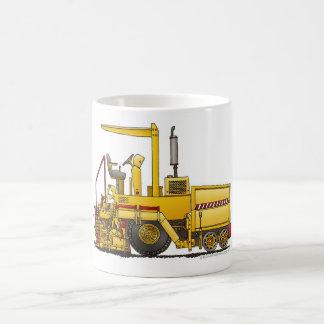 Asphalt Paving Machine Construction Mugs