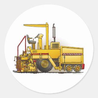 Asphalt Paving Machine Kids Sticker