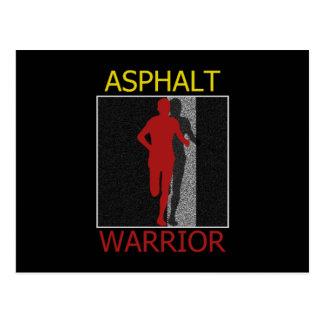 Asphalt Warrior Postcard