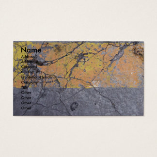 AsphaltDamaged Business Card