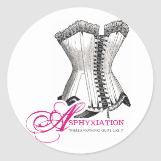 Asphyxiation - There's Nothing Quite Like It Classic Round Sticker
