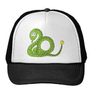 Aspid una serpiente de cascabel gorros