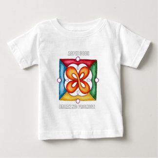 Aspie Code - Break No Promise Baby T-Shirt