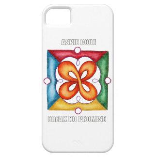 Aspie Code - Break No Promise iPhone 5 Covers