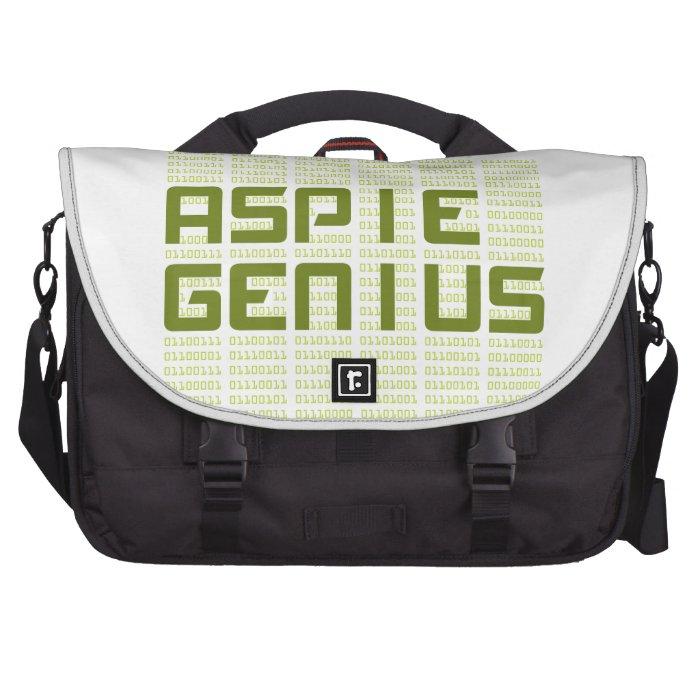 Aspie Genius - Computers Laptop Messenger Bag