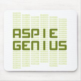 Aspie Genius - Computers Mouse Pad