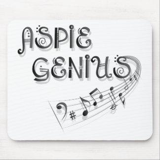 Aspie Genius - Music Mouse Pad