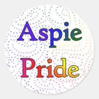 Aspie Pride stickers