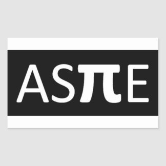 Aspie Rectangular Sticker