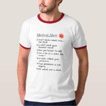Aspie Urgent Care Checklist T-Shirt