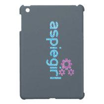 Aspiegirl Woman with Aspergers Case For The iPad Mini