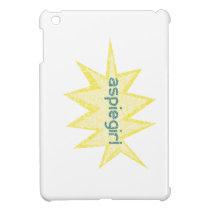 Aspiegirl Woman with Aspergers iPad Mini Cases