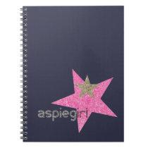 Aspiegirl Woman with Aspergers Notebook