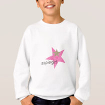 Aspiegirl Woman with Aspergers Sweatshirt
