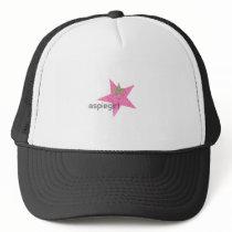 Aspiegirl Woman with Aspergers Trucker Hat