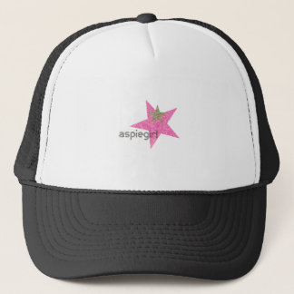 Aspiegirl Woman with Aspergers Trucker Hat