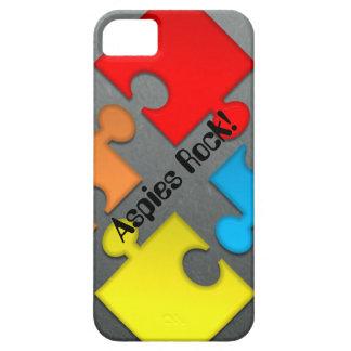"""Aspies rock"" iphone case iPhone 5 Cases"