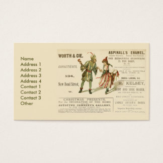 Aspinall's Enamel Business Card