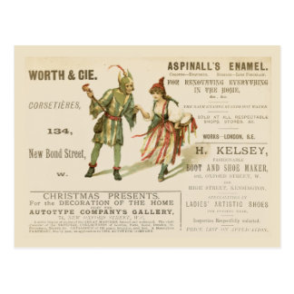 Aspinall's Enamel Postcards