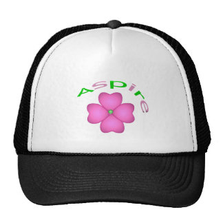 Aspira la flor gorra