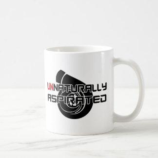 Aspirado artificial taza de café