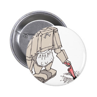 Aspirador robótico pins