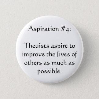 Aspiration #4 pinback button