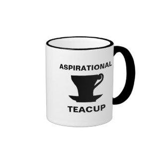 Aspirational Teacup Ringer Mug