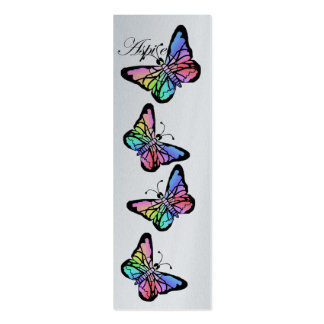 Aspire~Butterfly, My Spring Butterfly Mini Business Card